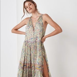 Spell oasis maxi sleeveless dress S NWT Opal